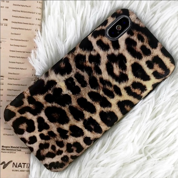 leopard iphone xs max case